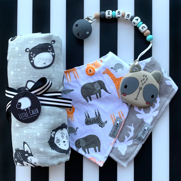 【PRE-ORDER】PERSONALIZED PANDA TEETHER