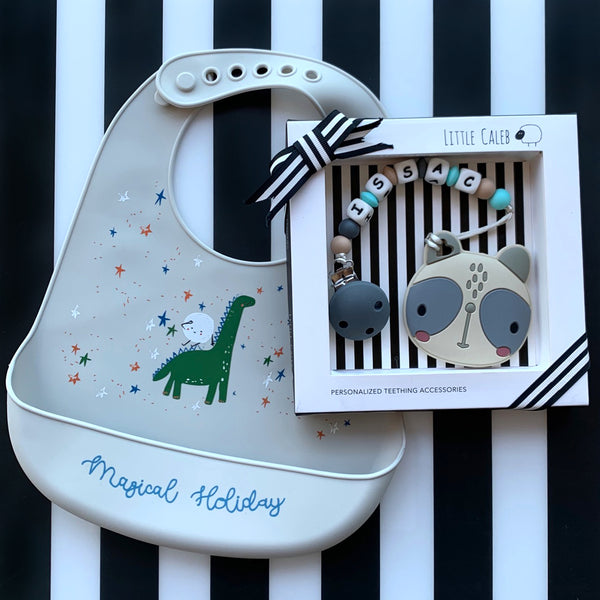 PERSONALIZED PANDA TEETHER
