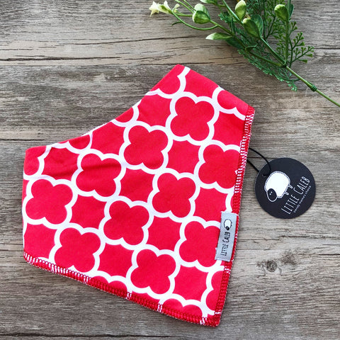 Red Pattern Bib