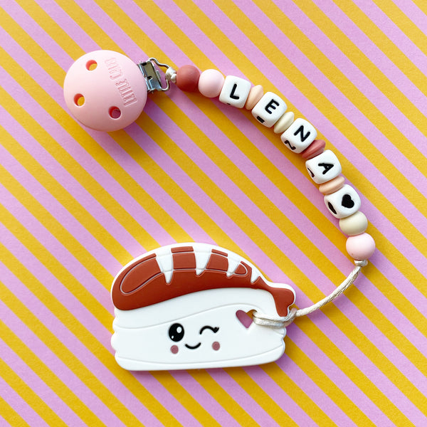 Personalized Ebi Sushi Teether