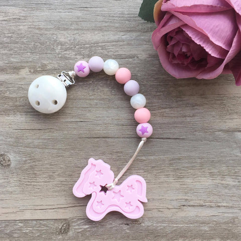 Pony Teether (Pink)