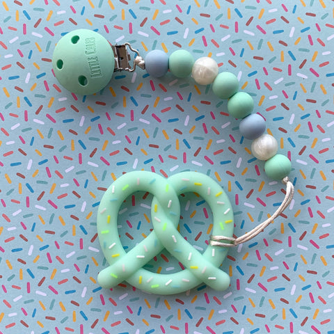 PRETZEL TEETHER(MINT)