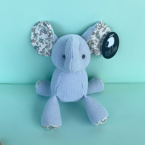 Organic Knit Doll - Elephant