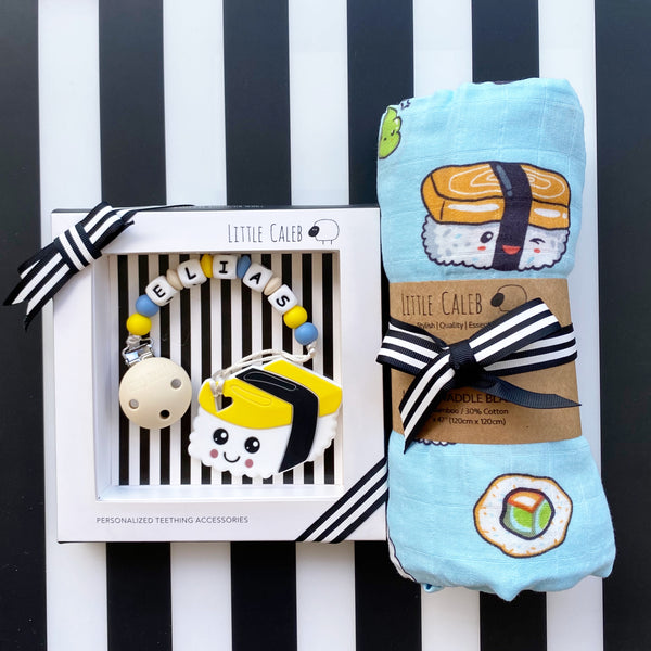 Personalized Tamago Sushi Teether