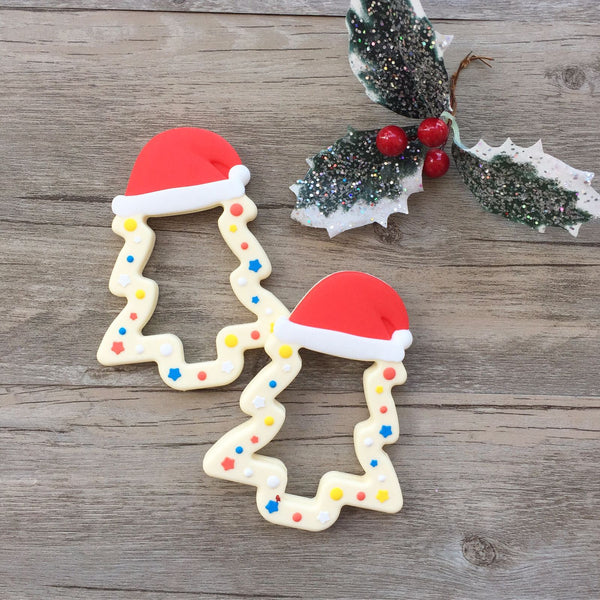 Christmas Tree Teething Toy (White - Limited Edition)