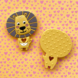 【PRE-ORDER】Personalized Lion Teether