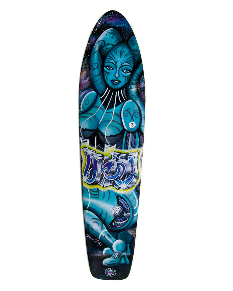 Space Twi'lek Skate Deck - Limited Edition 1/1