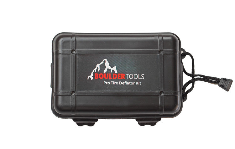 Boulder Tools Pro Tire Deflator Kit - Adjustable Automatic Deflators - 2020 Model