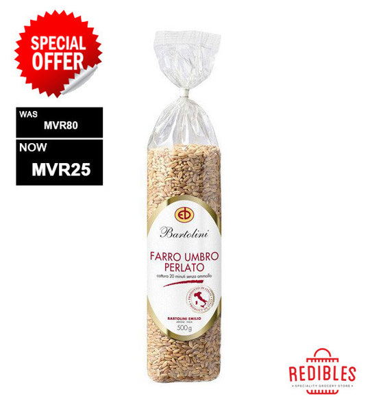 SPECIAL OFFER: Semipearled Farro 500g
