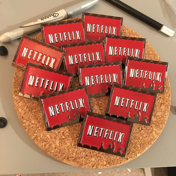 MST3K X NETFLIX PIN (SECONDS)