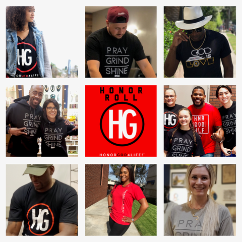 Introducing the HG HONOR Roll. A gallery of pics from folks around the world rocking HG.