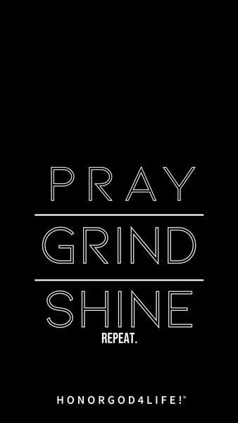 PRAY GRIND SHINE COLLECTION