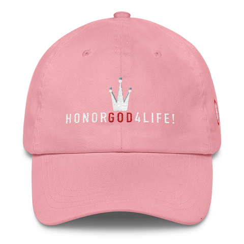 HONORGOD4LIFE!™ HG Royalty Classic Dad Cap