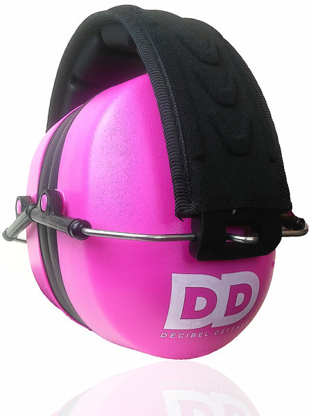 DECIBEL DEFENSE SAFETY EAR MUFF (PINK)