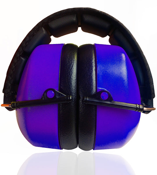 DECIBEL DEFENSE SAFETY EAR MUFF (PURPLE)