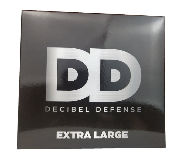 DECIBEL DEFENSE SAFETY EAR MUFF - EXTRA LARGE