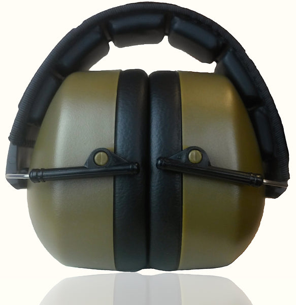 DECIBEL DEFENSE SAFETY EAR MUFF (Green)