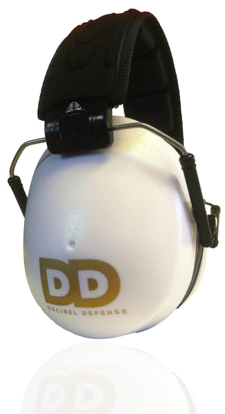 DECIBEL DEFENSE SAFETY EAR MUFF (WHITE)