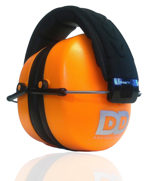 DECIBEL DEFENSE SAFETY EAR MUFF (Hi-Visability ORANGE)