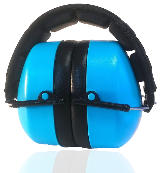 DECIBEL DEFENSE SAFETY EAR MUFF (BLUE)