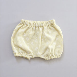 Pale Yellow Linen Bloomers - 2T ready to ship