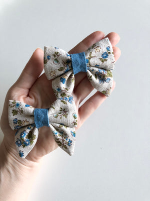Pigtail Hair Bow Set