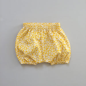 Yellow Floral Bloomers - ready to ship