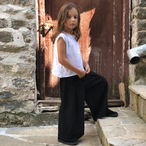 Girls Wide Leg Pants