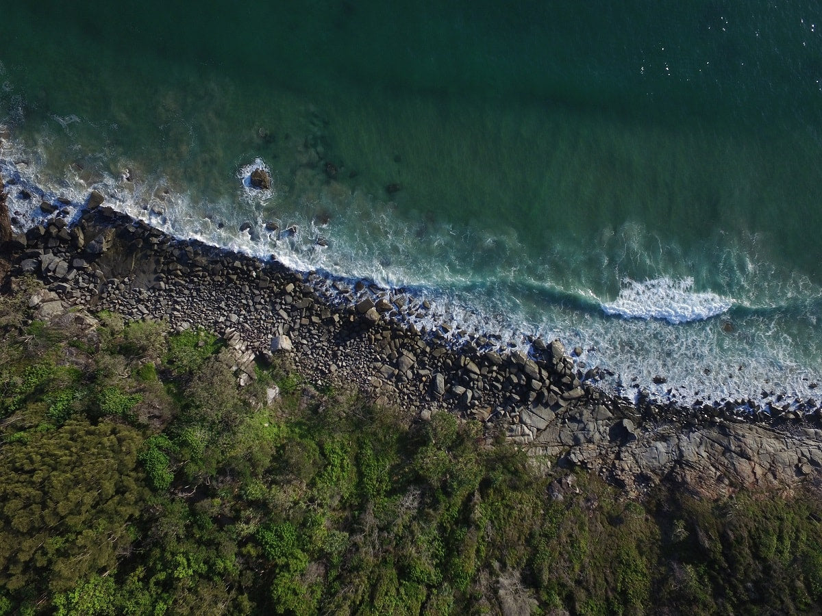 DJI-Phantom-3-Drone-Hells-Gate-Noosa-PolarPro-ND8-Filter-Wave-Rock