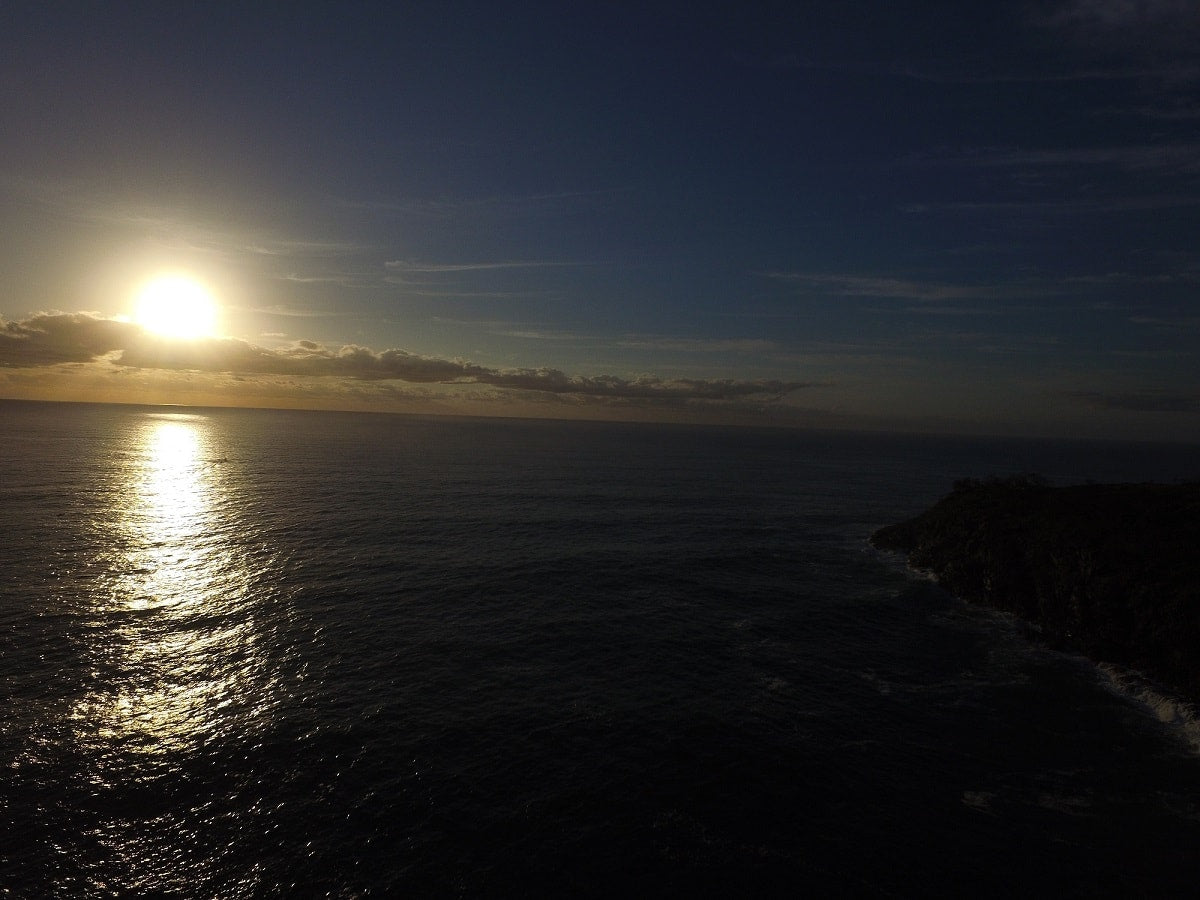 DJI-Phantom-3-Drone-Hells-Gate-Noosa-PolarPro-ND8-Filter-Sunrise