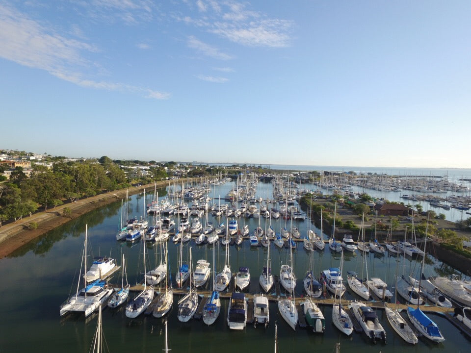 DJI-Phantom-3-From-Above-Manly-Boat-Harbour-QLD