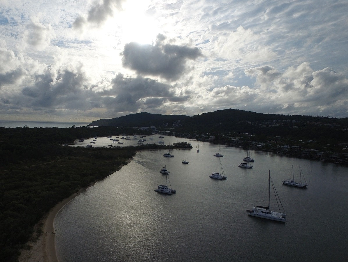 DJI-Phantom-3-Drone-Noosa-Waterways-PolarPro-ND8-Filter-Boats-Yachts