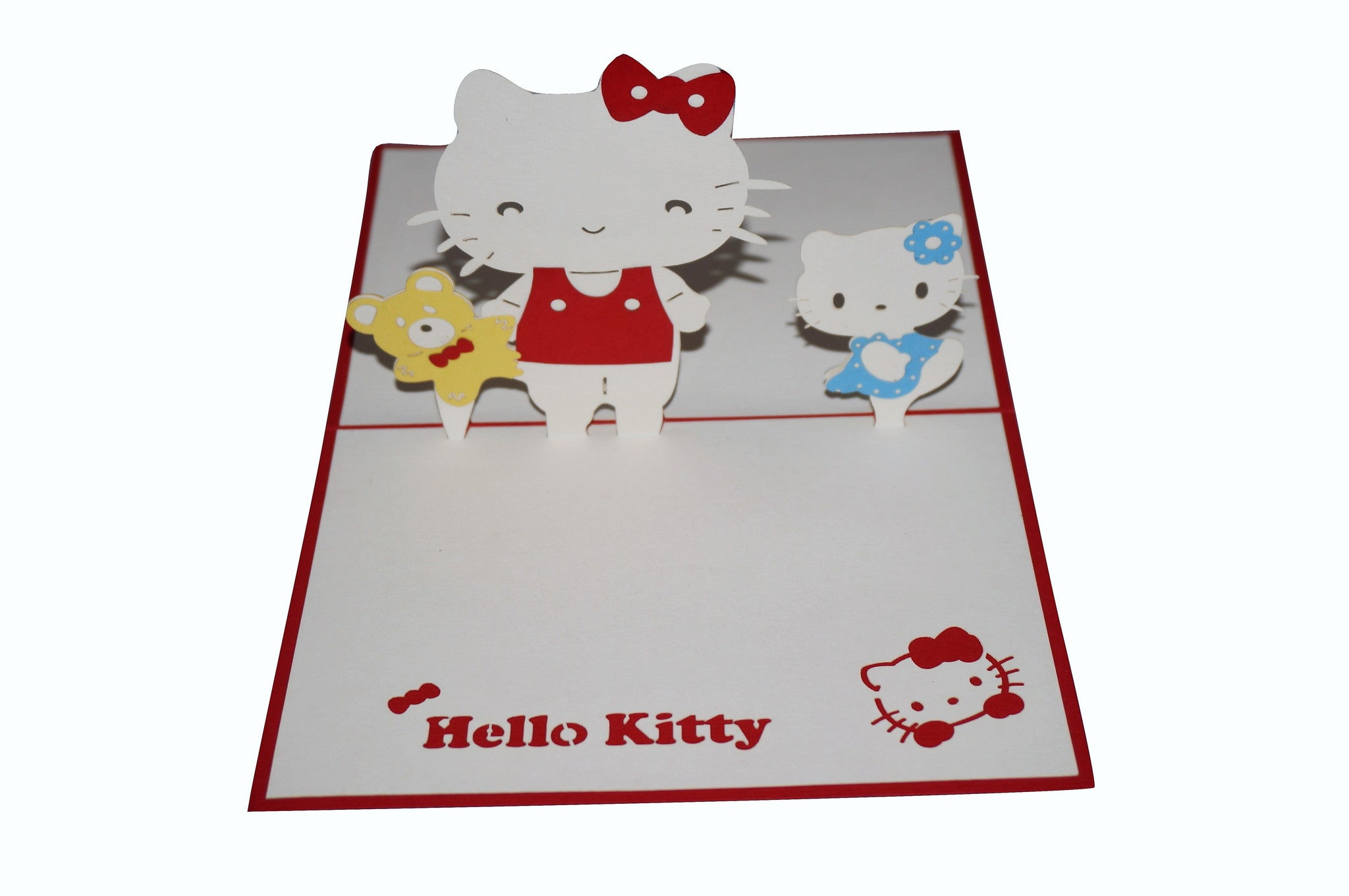 PaperkraftCards Hello Kitty Greeting Card