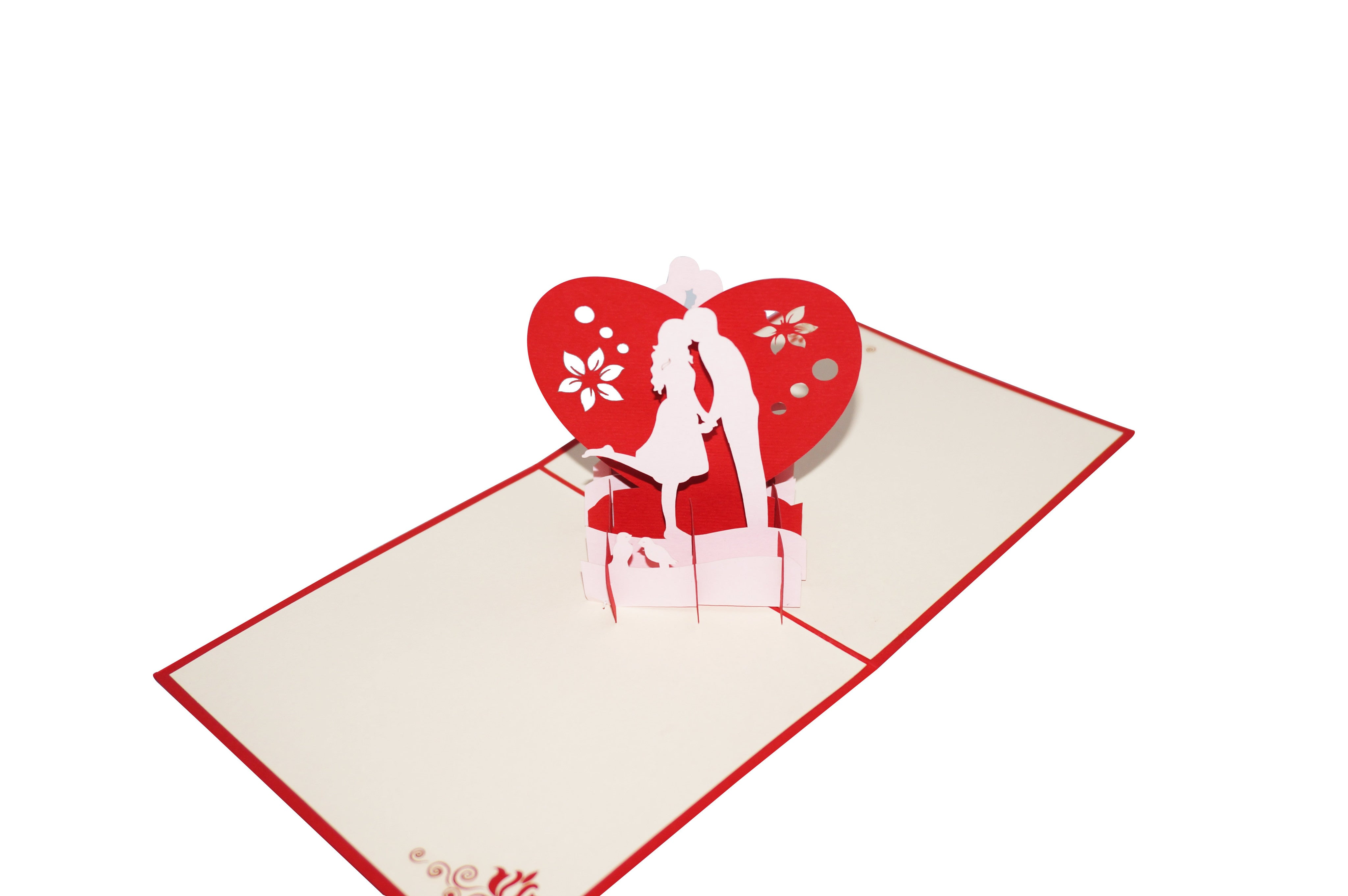 PaperkraftCards Kiss of Love Greeting Card