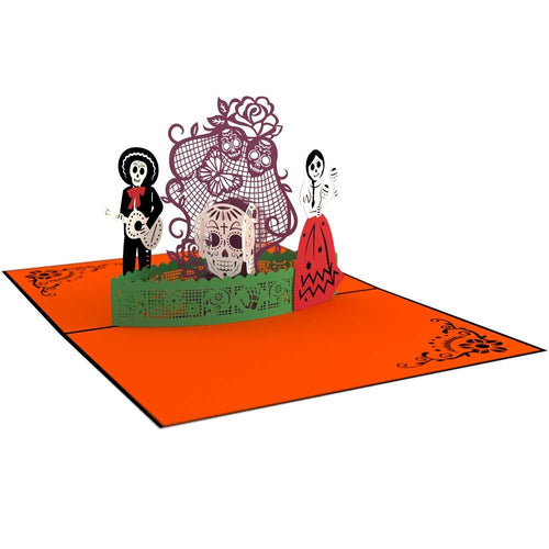 Paperkraft  Halloween 3D Pop Up Greeting card
