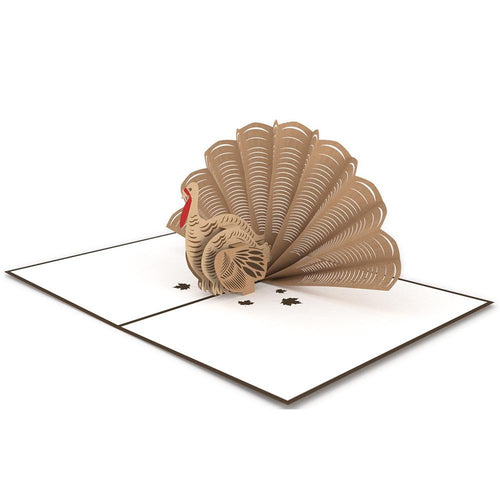 Thanksgiving Turkey 3D Greeting card