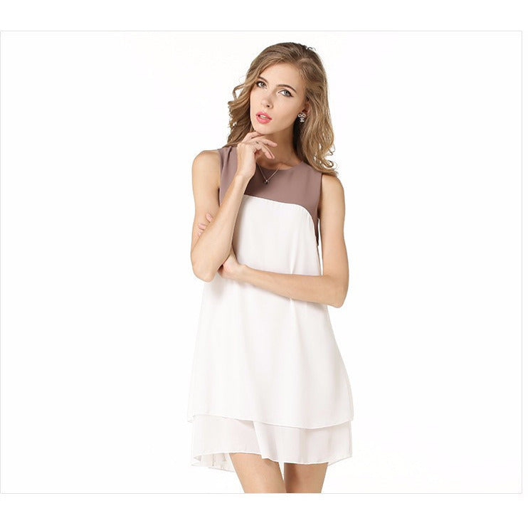 Women's Sleeveless Casual Party Dress - Indifashion.org