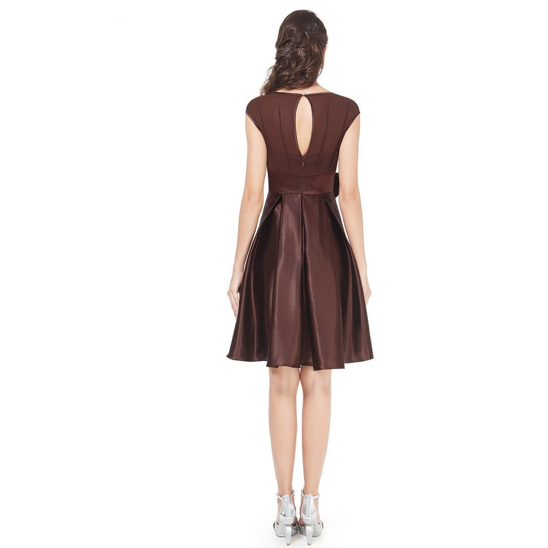 Women's Knee Length Cocktail Dress - Indifashion.org