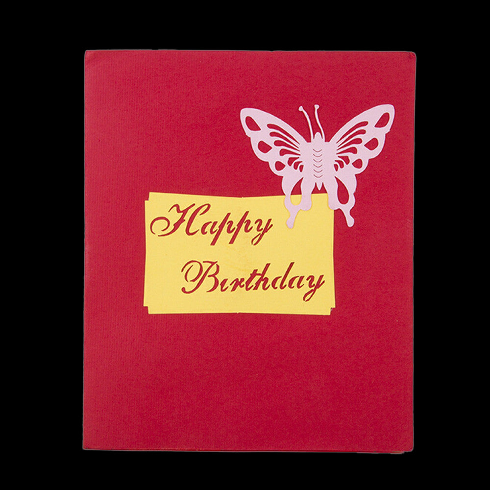 PaperkraftCards Birthday 3D Pop Up Greeting Card