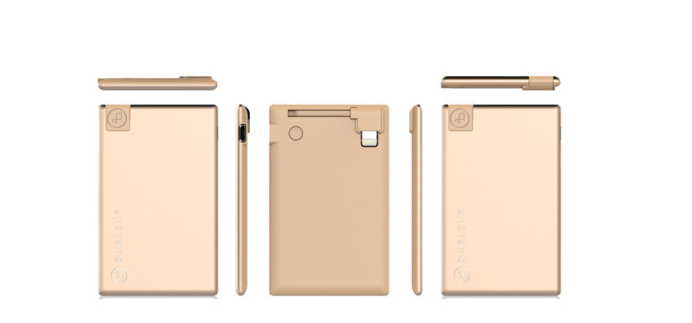 Power Bank gold iPhone