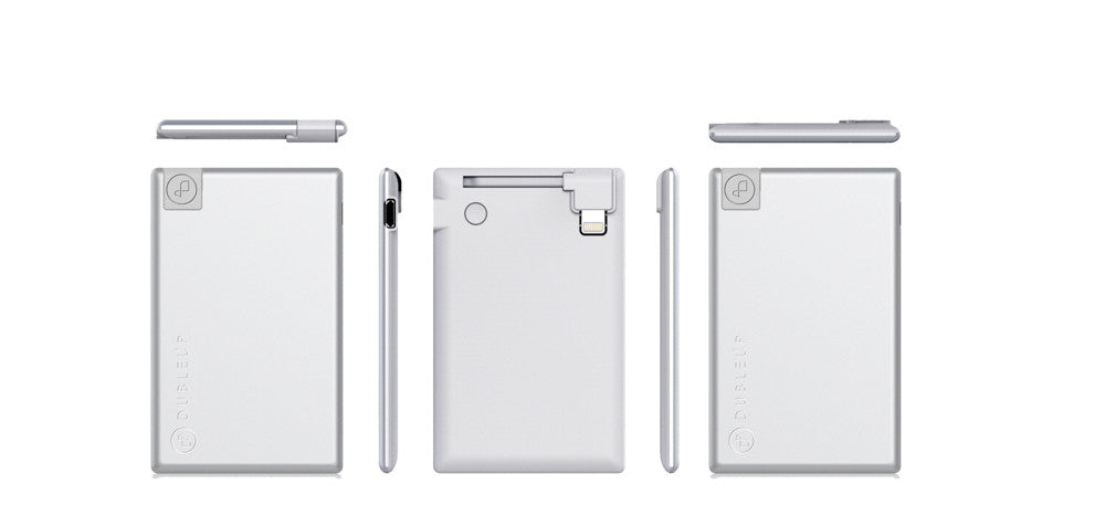 Power Bank silver iPhone