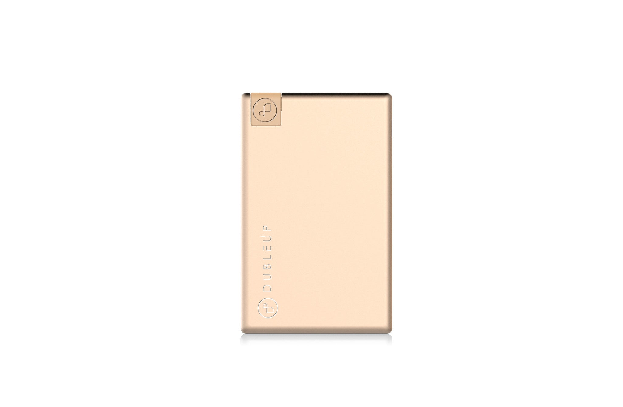 Portable charger gold