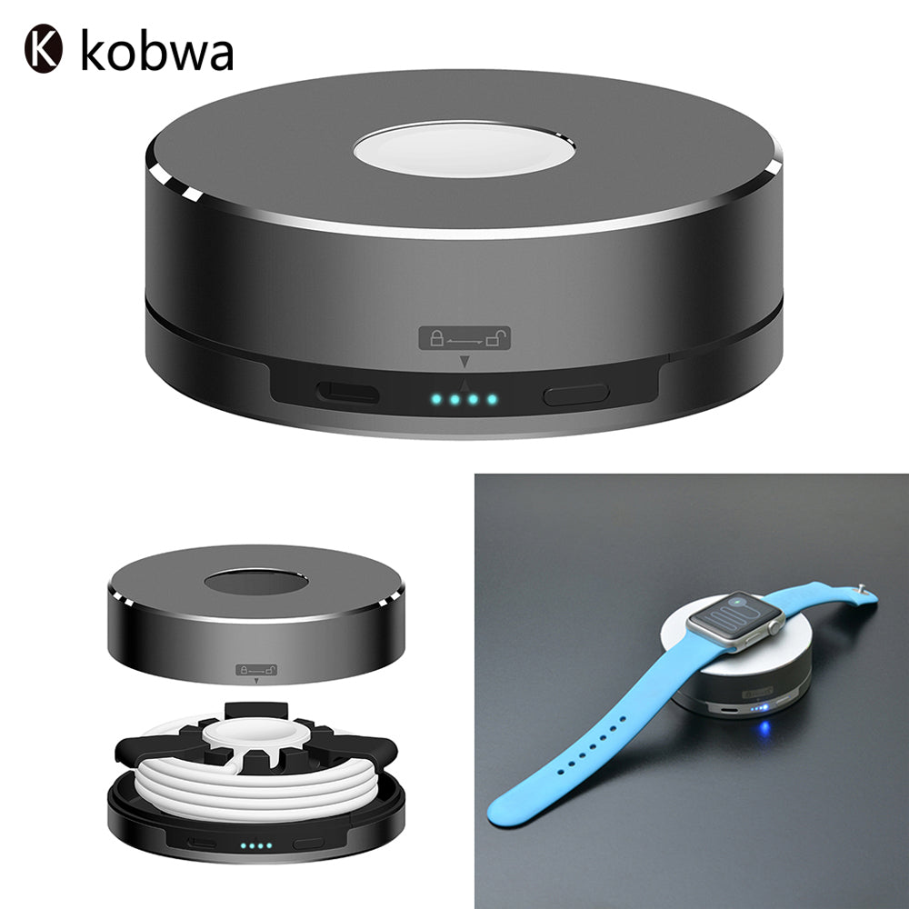 Kobwa 3 in 1 Power Bank For Apple Watch