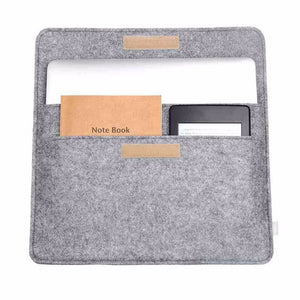 "Alloyseed Soft Wool Case for Laptops - 10"" to 14"""