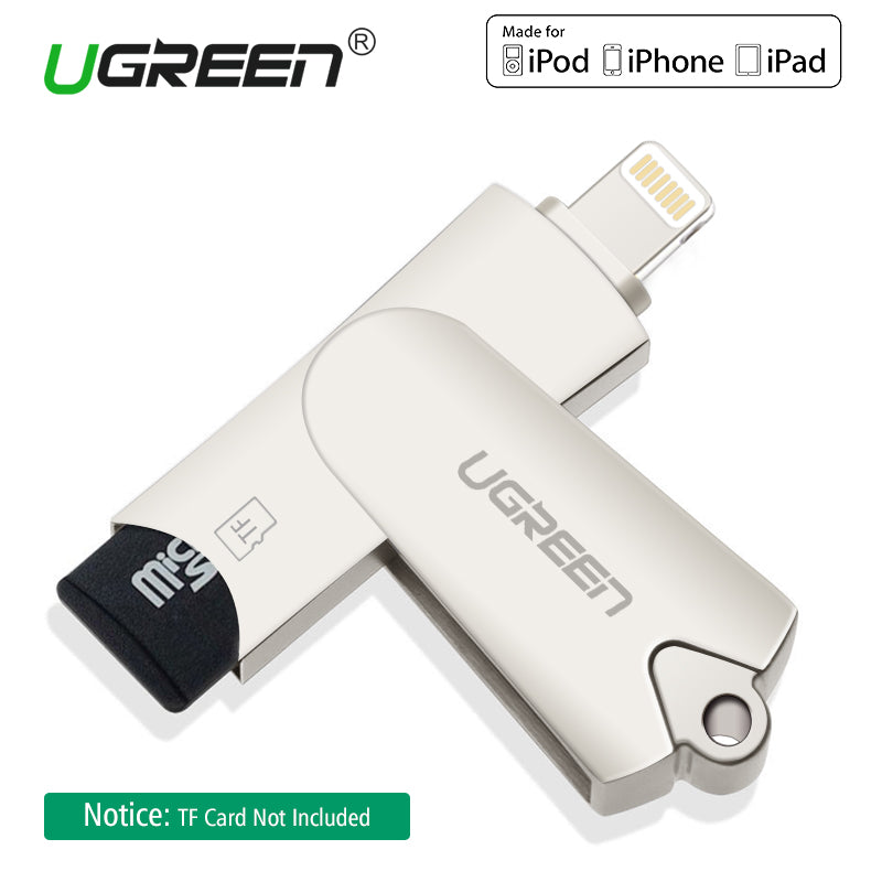 Ugreen Lightning Micro SD/TF Card Reader