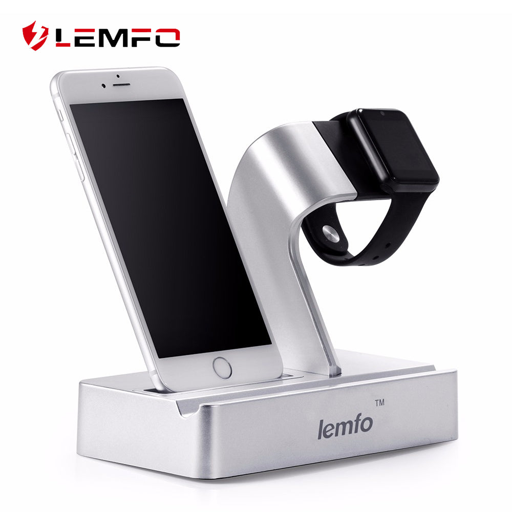 Lemfo 3 in 1 Charging Station - iPhone, iPad and Apple Watch