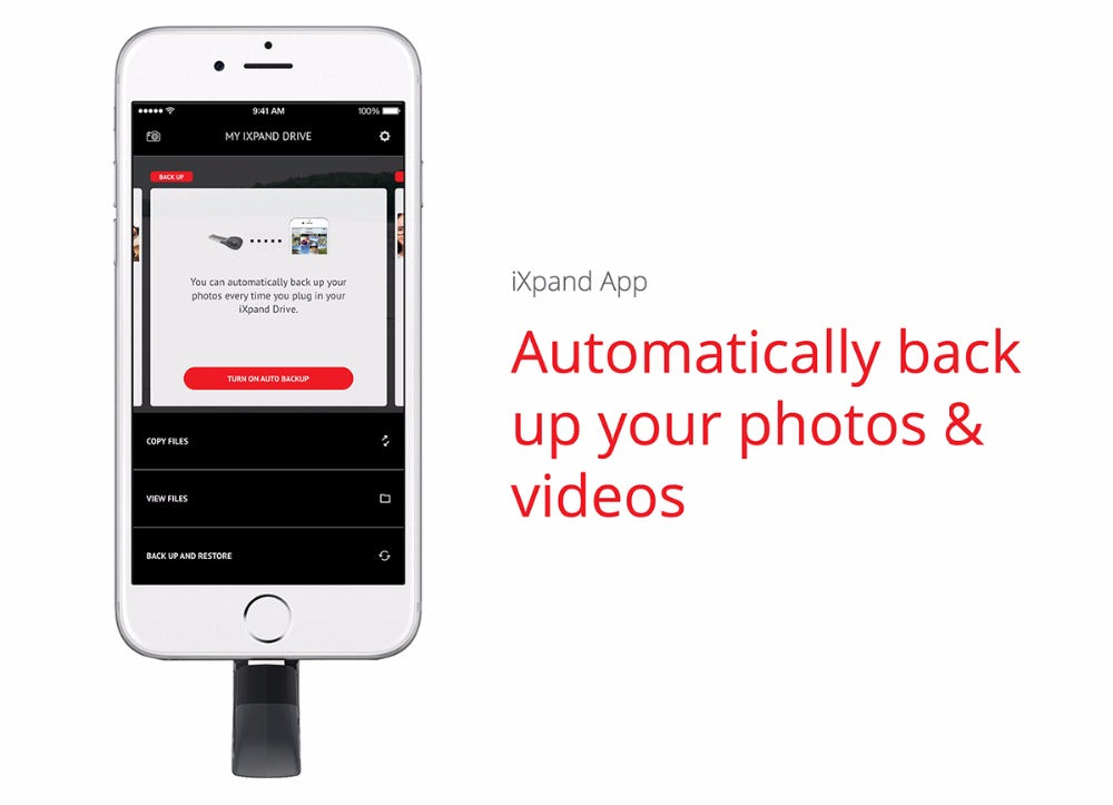 SanDisk 16GB USB Flash Drive For iPhone & iPad