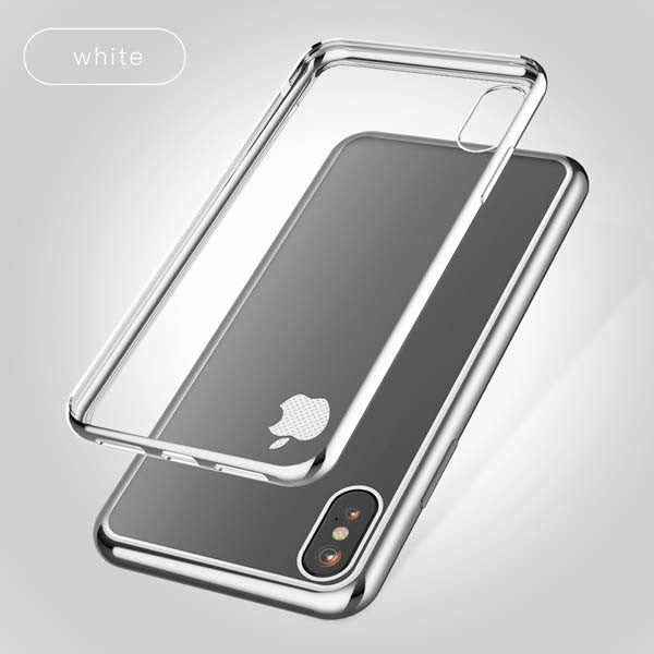 Tikitaka Transparent iPhone X Case