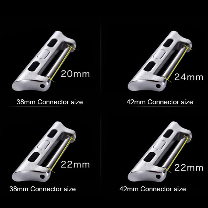 Ollivan Aluminium Watch Band Connector for Apple Watch