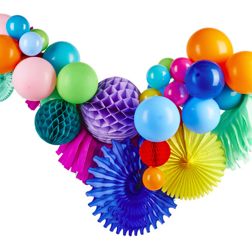 Fancy Balloon Garland